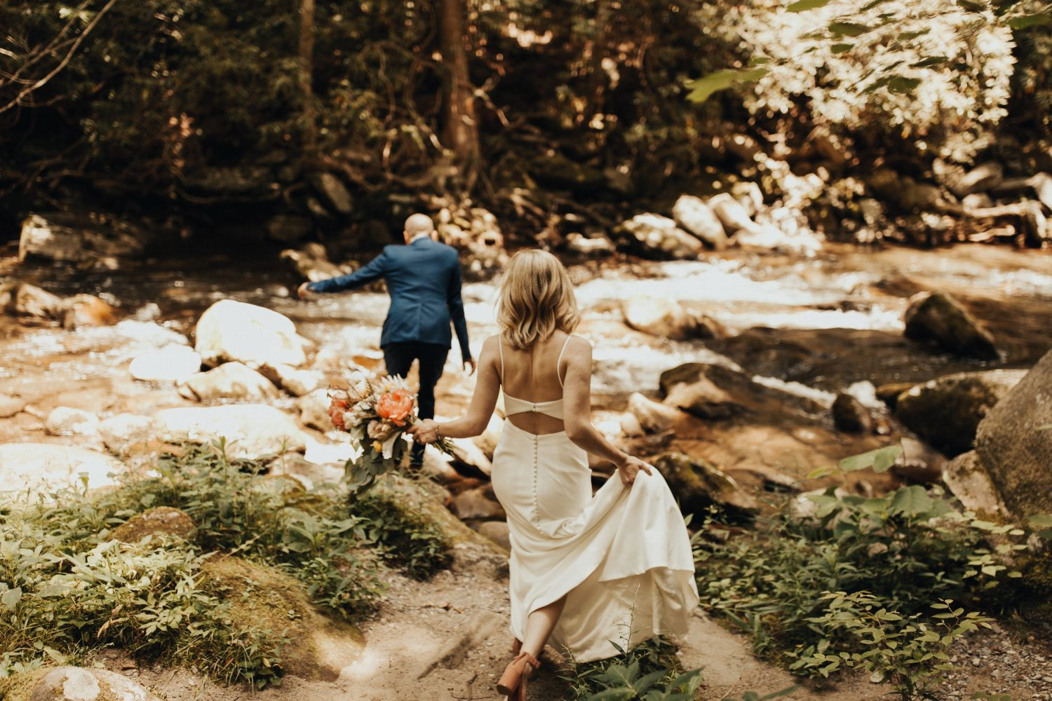 Adventurous Wedding in the Smoky Mountains